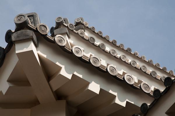 Matsuyama-jo Dach