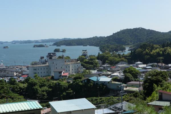 Matsushima-Bay vom Hügel