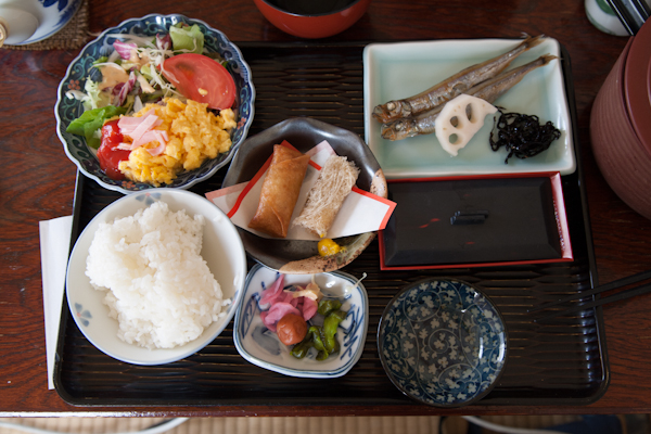 Ryokan-Frühstück2