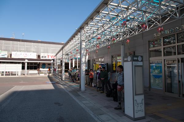 Aomori JR-Busstation