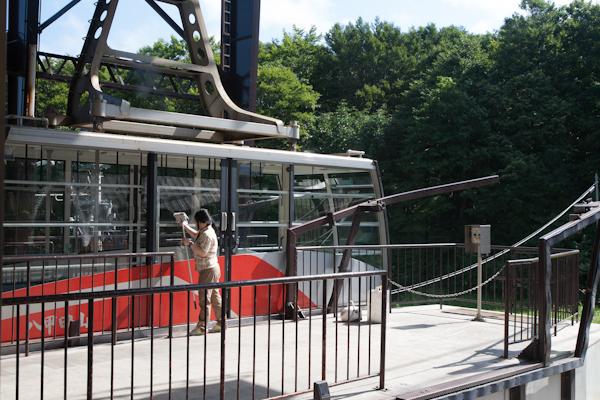 Hakkoda-Ropeway Fensterreinigung