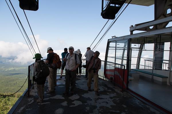 Hakkoda - Ankunft Bergstation