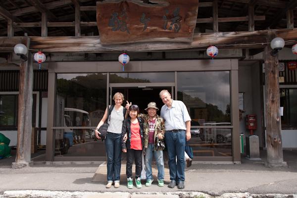 Das Ehepaar aus Osaka mit Sylvi & Thom