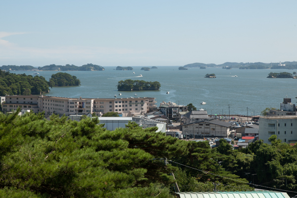 Blick auf Matsushima